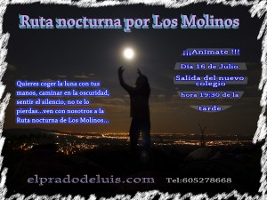 Ruta nocturna El Prado de Luis